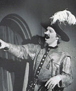 "Steven Kimbrough as Cyrano in ""A Song for Cyrano""; Click on the picture to see the Opera and Musical Theater Photo Gallery."